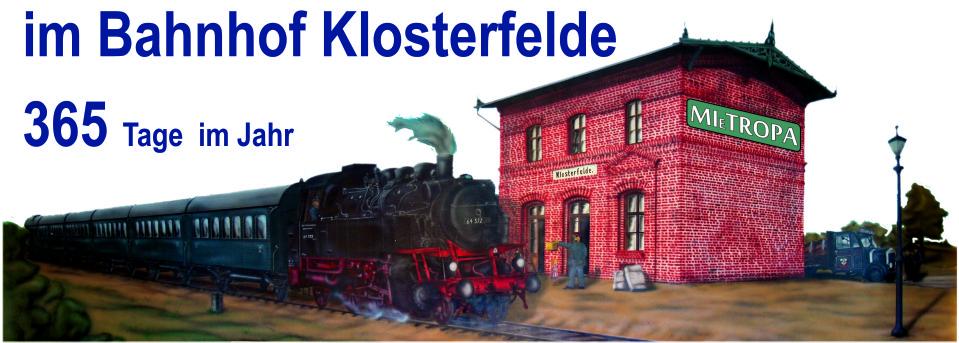 Mietropa im Bahnhof-Klosterfelde.