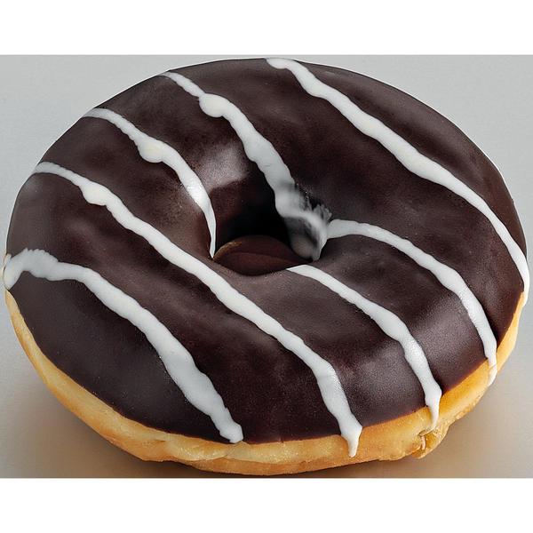 Schokopudding-Donut